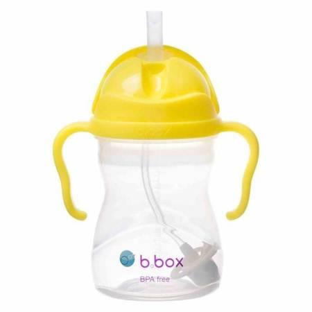 B.BOX Innowacyjny bidon ze słomką Cytrynowy BBOX