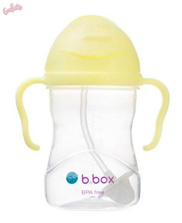 B.BOX Innowacyjny bidon ze słomką Gelato Banana 6m