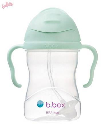 B.BOX Innowacyjny bidon ze słomką Pistachio