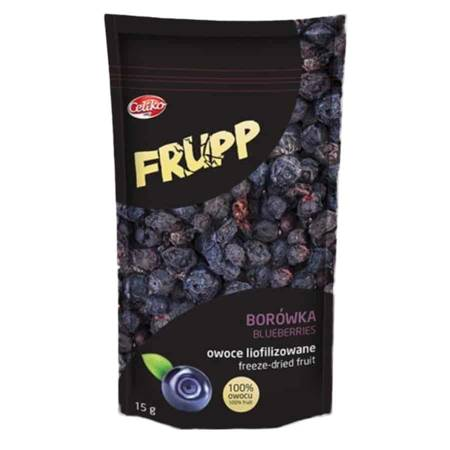 Frupp Owoce liofilizowane borówka Celiko 15g