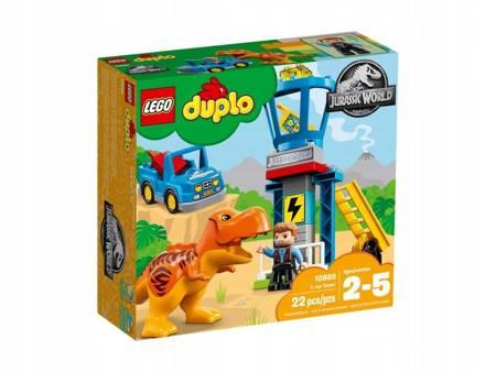 KLOCKI LEGO 10880 Duplo Wieża tyranozaura