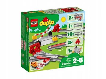 KLOCKI LEGO 10882 Duplo Tory kolejowe