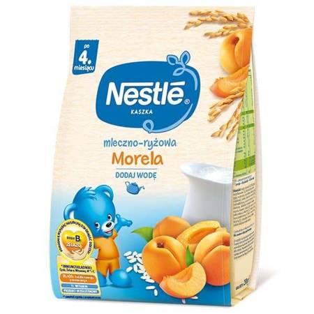 Kaszka mleczno-ryżowa Morela 4m+ 230g KRÓTKA DATA Nestle