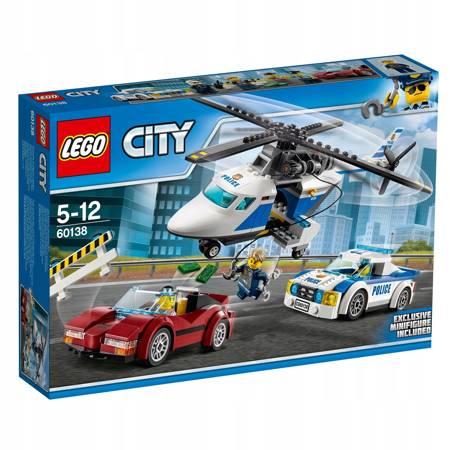Klocki LEGO City Szybki pościg 60138