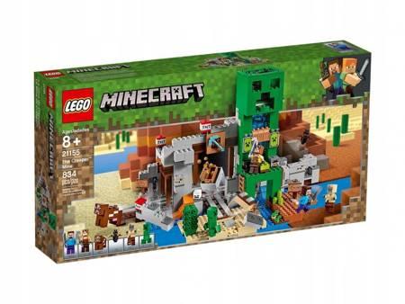Klocki LEGO Minecraft Kopalnia Creeperów 21155