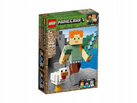 LEGO 21149 Minecraft BigFig Alex z kurczakiem