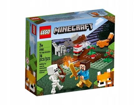 LEGO 21162 Minecraft Przygoda w tajdze