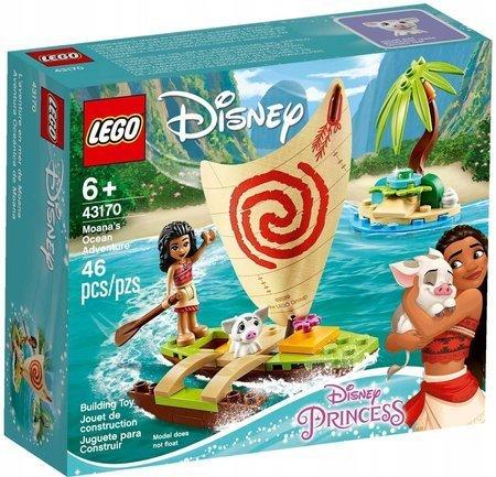 LEGO 43170 Disney Oceaniczna przygoda Vaiany
