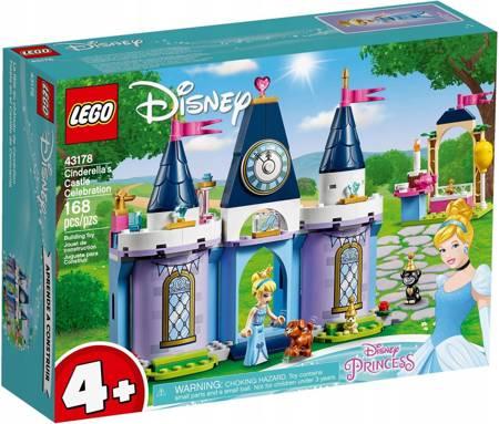 LEGO 43178 Disney Przyjęcie w zamku Kopciuszka