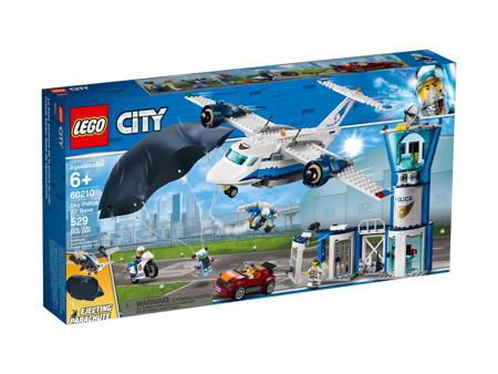 LEGO 60210 City Baza policji powietrznej