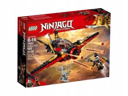 LEGO 70650 Ninjago Skrzydło przeznaczenia
