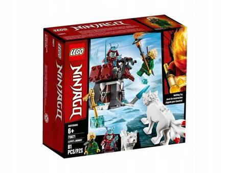 LEGO 70671 Ninjago Podróż Lloyda