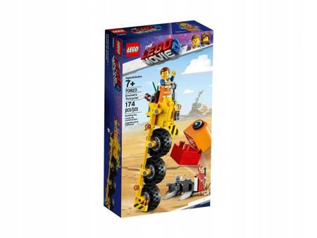 LEGO 70823 THE LEGO MOVIE 2 Trójkołowiec Emmeta
