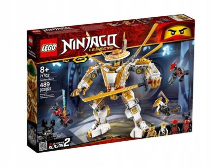 LEGO 71702 Ninjago Złota zbroja