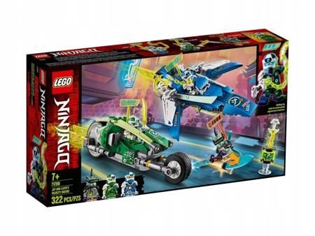 LEGO 71709 Ninjago Wyścigówki Jaya i Lloyda