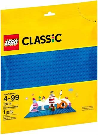 LEGO Classic Niebieska Płytka Konstrukcyjna 10714