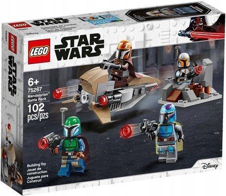 LEGO STAR WARS Zestaw bojowy Mandalorianina 75267