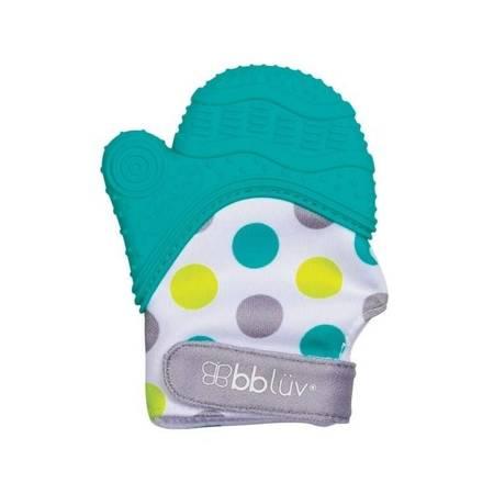 Rękawiczka-gryzaczek Glüv niebieska bblüv