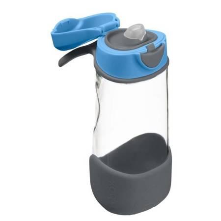 Sportowa butelka tritanowa 450 ml, Blue Slate 3+ B.Box